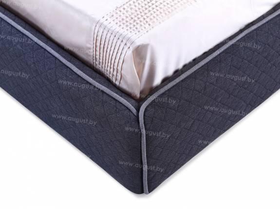 """Кровать с мягким изголовьем AL-0011 """"Collare"""""""