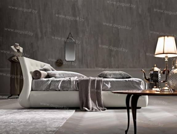"""Кровать с мягким изголовьем AL-0013 """"August Armonio"""""""