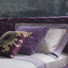 """Кровать с мягким изголовьем AL-0080 """"August Louvre"""""""