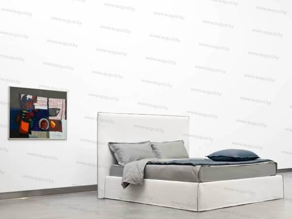 """Кровать с мягким изголовьем AL-0019 """"Bali"""" High"""