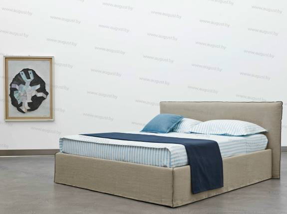 """Кровать с мягким изголовьем AL-0019 """"August Bali"""" Standart"""