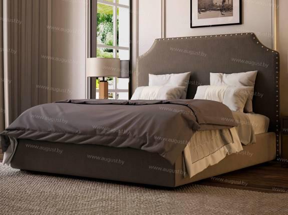 """Кровать с мягким изголовьем AL-0354 """"August Madrid"""""""