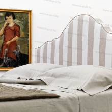 """Кровать с мягким изголовьем AL-0355 """"August Santa Lucia"""""""