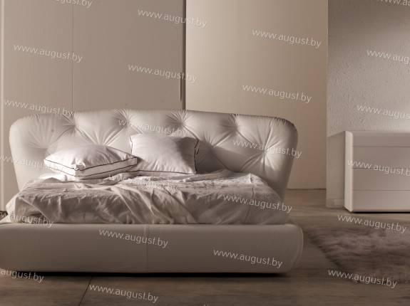 """Кровать с мягким изголовьем AL-0320 """"Cottony"""""""