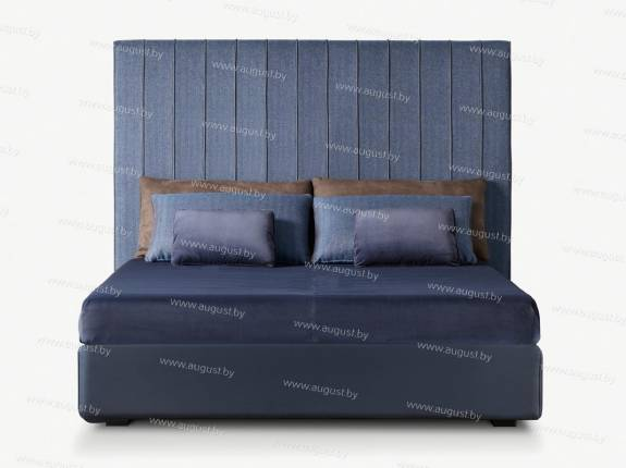 """Кровать с мягким изголовьем AL-0341 """"Velvet Big"""""""