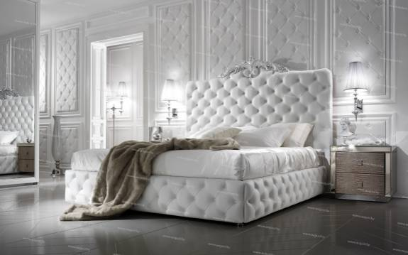 "Кровать с мягким изголовьем AL-0181 ""August Sweet Luxury"""