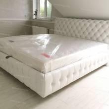 """Кровать с мягким изголовьем AL-0116 """"Chester"""""""