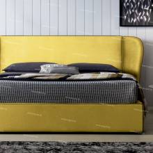 """Кровать с мягким изголовьем AL-0351 """"Isabel"""""""