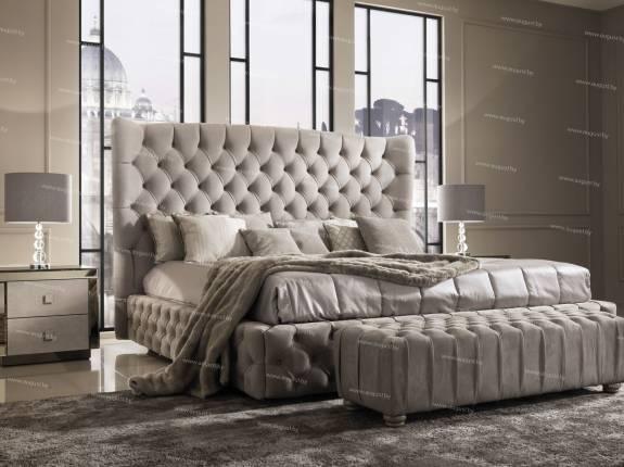 """Кровать с мягким изголовьем AL-0180 """"Mystery Lux"""""""