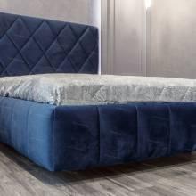 """Кровать с мягким изголовьем AL-0091 """"August Chocco"""""""