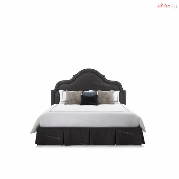 """Кровать с мягким изголовьем AL-0075 """"August Maroccana"""""""