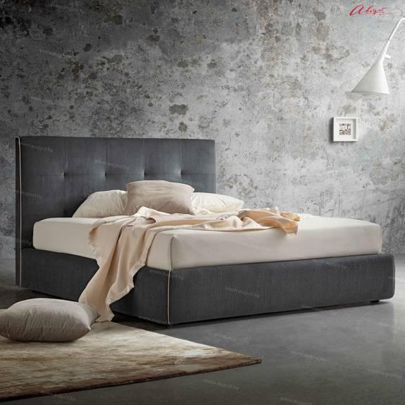 """Стильная кровать с мягким изголовьем AL-0073 """"Love Me"""""""