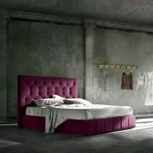 """Кровать с мягким изголовьем AL-0082 """"August La Esperanza"""""""