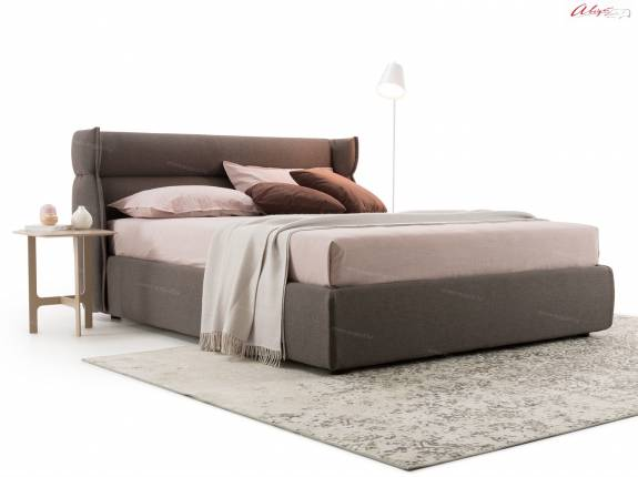 """Кровать с мягким изголовьем AL-0084 """"Sintia"""""""