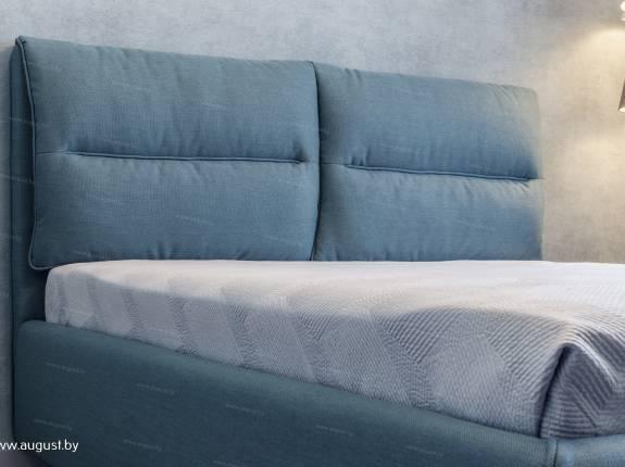 """Кровать с мягким изголовьем AL-0066 """"August Molli"""""""