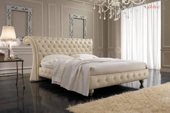 """Кровать с мягким изголовьем AL-0115 """"August Chesterfield"""""""