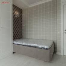 """Кровать с мягкими стеновыми панелями ASW-0006 """"August Piccadilly Kids"""""""