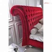 """Дизайнерская кровать с мягким изголовьем AL-0111 """"August Marquise"""""""