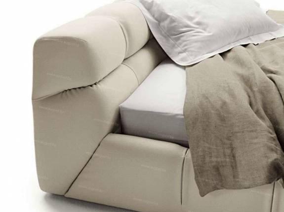 """Кровать с мягким изголовьем AL-0057_2 """"August Belmondo II"""""""