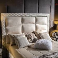 """Кровать с мягким изголовьем AL-0050 """"August Monaco"""""""