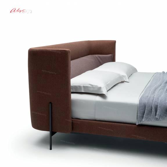 """Кровать с мягким изголовьем AL-0033 """"August GIO"""""""