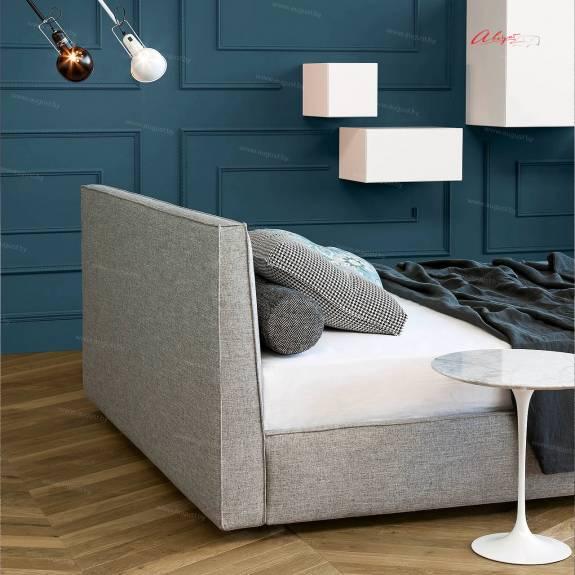 """Кровать с мягким изголовьем AL-0036 """"August Torino"""""""